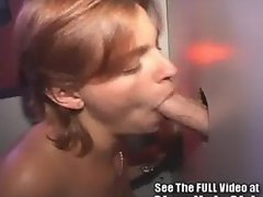 Sleazy Cum Slut Mechanic Drains Messy Man Fluids Down Her Throat