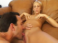 Young MILF gets cunted and spermed