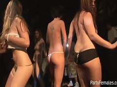 Beautiful Babes Dance On Stage