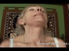 lean old granny sucking fresh fuck meat