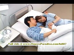 Akiho Yoshizawa amateur asian nurse blowjobs