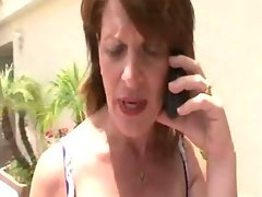 Linda Roberts Forgets About The Poolman