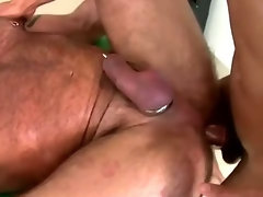 Gay ravaged by amateur cock