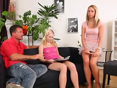 Bibi Fox is threesomed by a horny couple