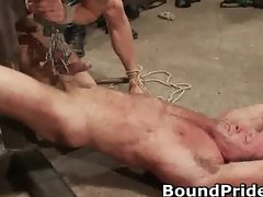 Super extreme BDSM gay hardcore part5