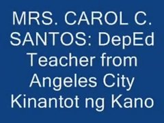Carol Cunanan Santos DepEd Teacher Kinantot ng Kano