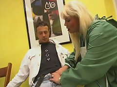 Doctor danielle takes a wild ride on a stiff cock!