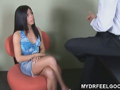 18 year old eva fucked blindfolded