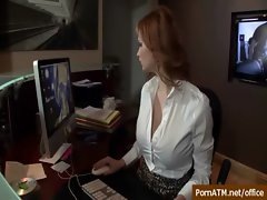 Sexy Busty Secretary Banged in Office - Big Tits at Work 35