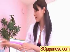 Asian In Schoolgirl Uniform Get Hard Nailed movie-02