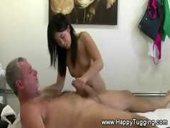 Asian masseuse delivers a happy ending