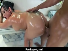 Big Wet Butts - Amazing hard anal sex video 32