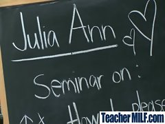 Sexy Busty Teachers And Students Fuck Hard movie-15