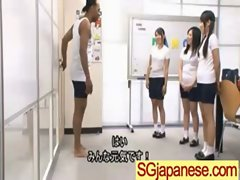 Asians Teen Girls In School Uniform Get Hard Sex clip-29