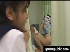 Hot Young Japanese babes Fuck In Public video-13