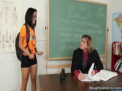Dillon Harper gets fucked hard in the classroom by a huge dick