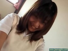 Japanese Teen Get Hardcore Sex movie-11