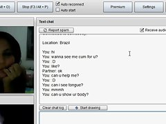 brazil girl in chatroulette see me