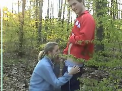 Extremely Cute Girl Secretly Having Sex In The Woods