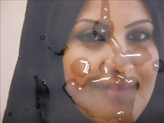 Gman Cum on Face of a Sexy Arab Girl in Hijab (tribute)