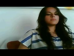 Beauty teen in cam