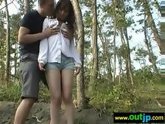 Asians Sensual japanese Slutty chicks Get Nailed In Public vid-35