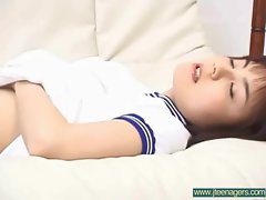 Horny Banging A Sensual japanese Barely legal teens Girlie vid-23