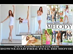 Melody Flashing public barely legal teen