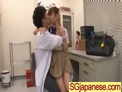 Asians Seductive teen Ladies In School Uniform Get Wild Sex clip-17