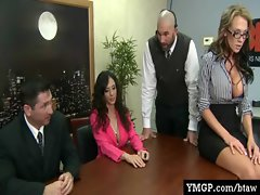 Alluring Big Tit Cute chicks Screwed By Their Bosses At Work 04