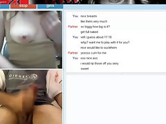 perfect young woman from chatroulette extremely sensual