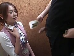 Seductive japanese Dressing Room Flash(censored) #6