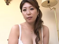 Seductive japanese Slutty mom and not her Son (different)