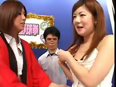 Seductive japanese Game Show part 2