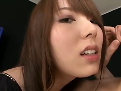 Yui Hatano plays with phallus