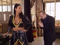Sidney Dark Dominating Her Manslave Into Banging Her