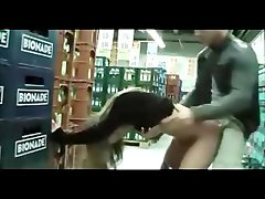Slutty Nympho Gets Banged In Public Numerous Stores Including The Mall