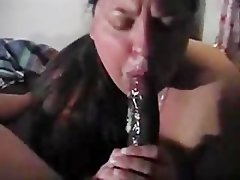 Enormous Black Dravidian Pecker mangosucked by hefty Asian Arabic muslim Paki Dirty wife