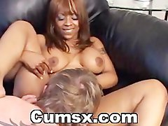 Top heavy Filthy ebony Moaning While Banged Deep